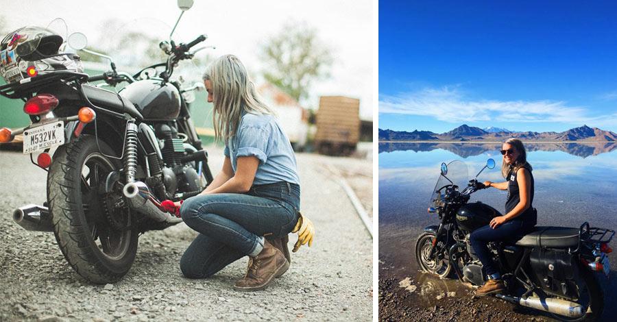 Bonneville Salt Flats and Bike Maintenance