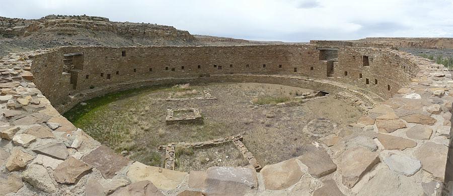 Great Kiva at Casa Rinconada, Chaco Culture National Historical Park. Photo courtesy of jb10okie via Flickr