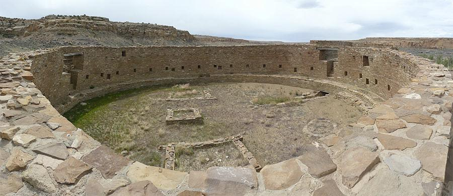 Great Kiva at Casa Rinconada, Chaco Culture National Historical Park. Photo courtesy of jb10okie via Flickr