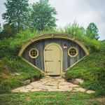 Hobbit-Style Gully Huts: Forest Gully Farms
