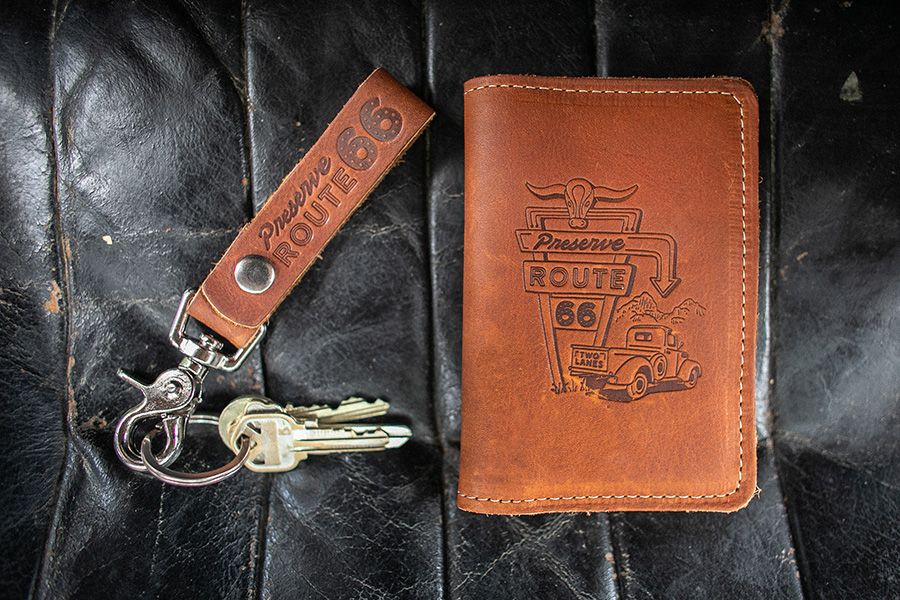 journal and keychain 2