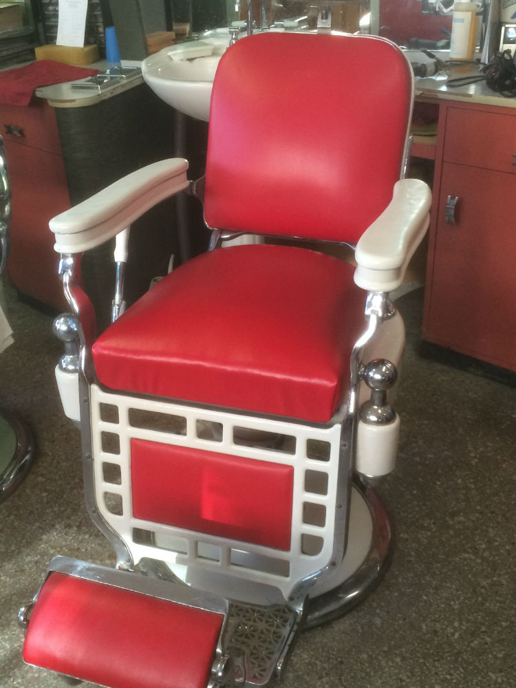 Theo A Kochs Vintage Barber Chair