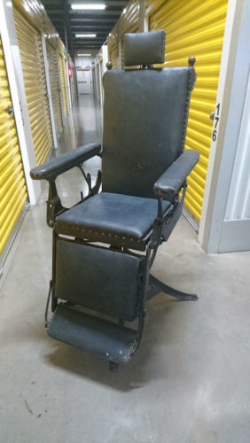 Barber Belmont Rest Foot Chair