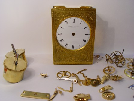 Carriage Clock Repair 7