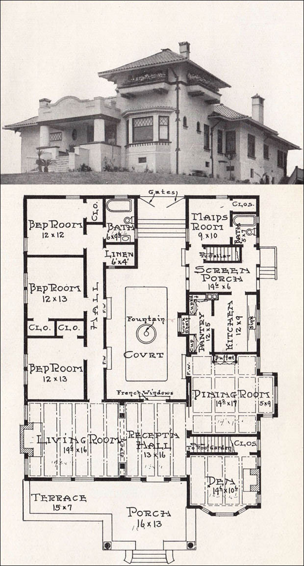Build diy california mission style home plans pdf plans for Mission home plans