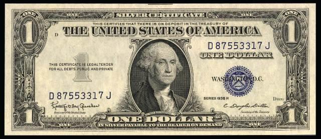 Value Old Us Dollars