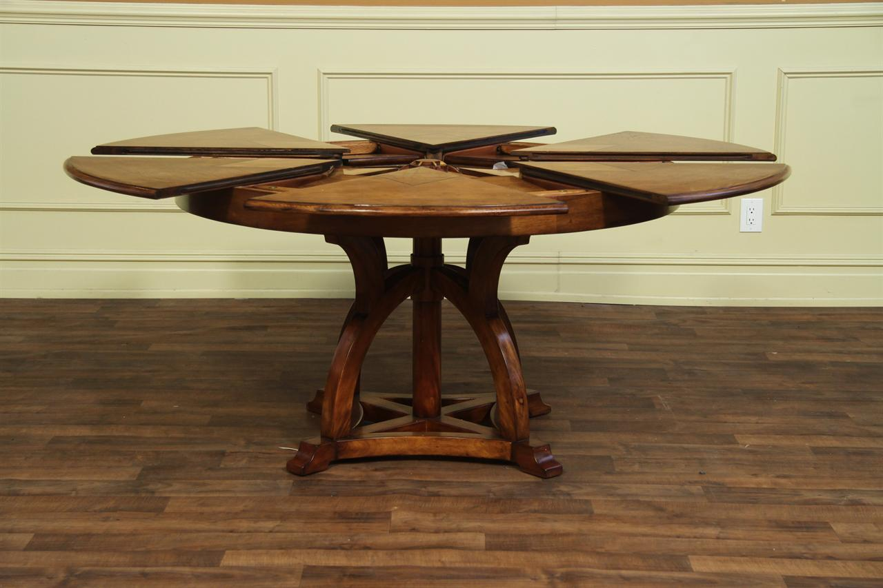 Antique Round Table And Chairs