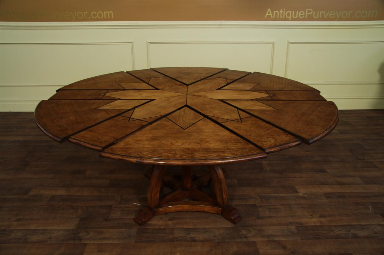 Solid Walnut Jupe TableArts And Craft Expandable Dining Table