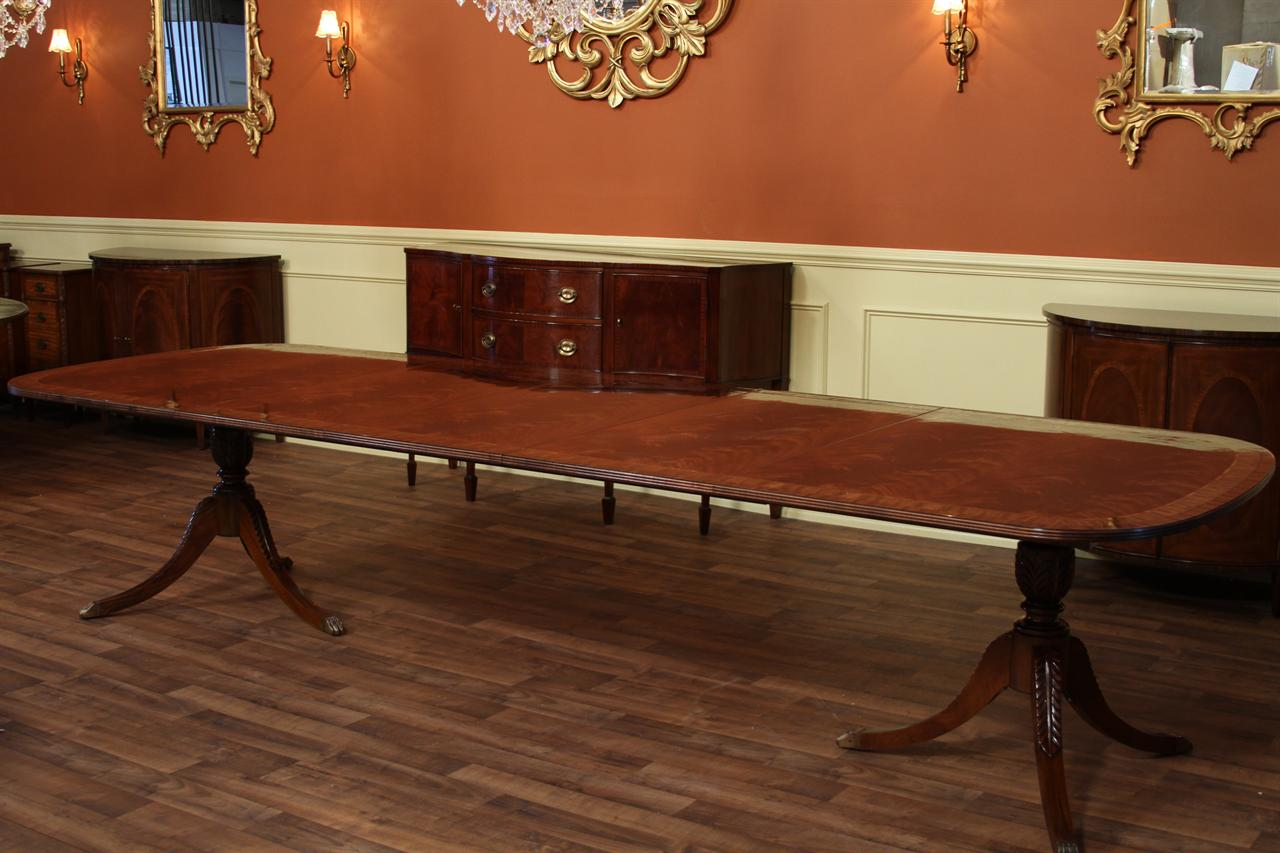 High End Dining Table Federal Style12 Foot Mahogany