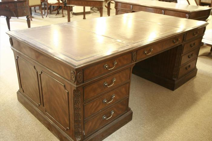 Large Wooden Office Desk
