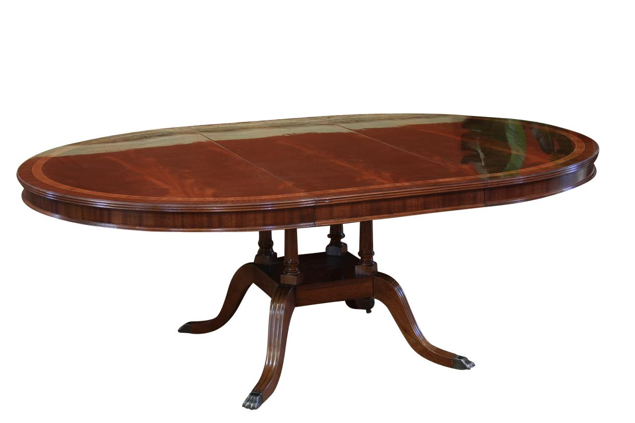 Round To Oval Dining Room Table