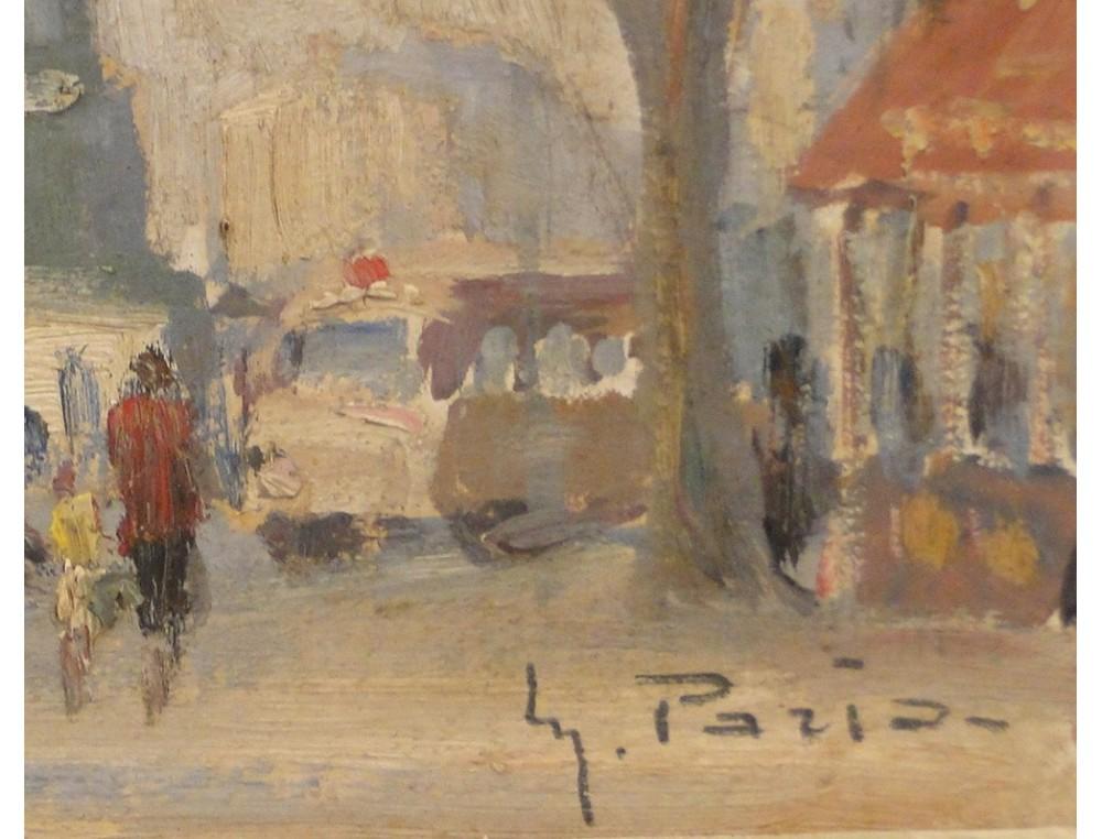 Hsc Paint Carousel Place De La Bastille In Paris Maurice