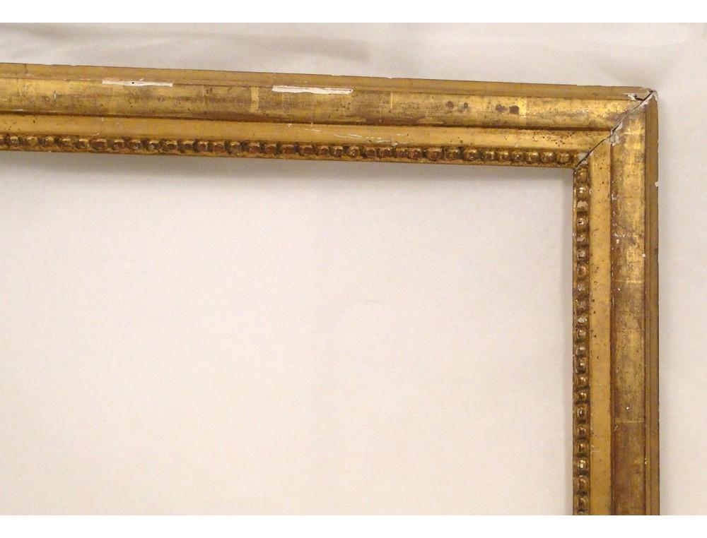 cadre baguette louis xvi en bois
