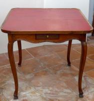 louis xv style card table