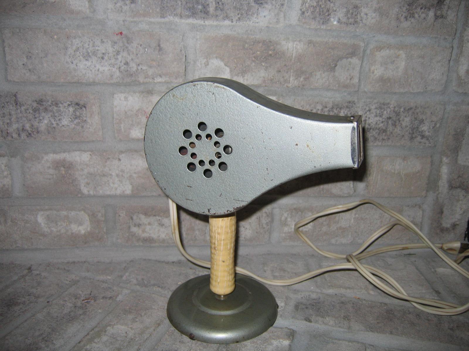 Old Vintage Chic Electric Metal Hair Dryer Item 830 For