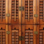 Outstanding Antique Interior Wood Shutters Early 1900 S