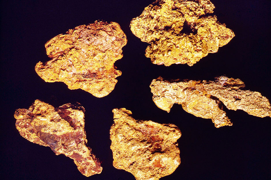 Nature's Riches - Natural Gold Nuggets