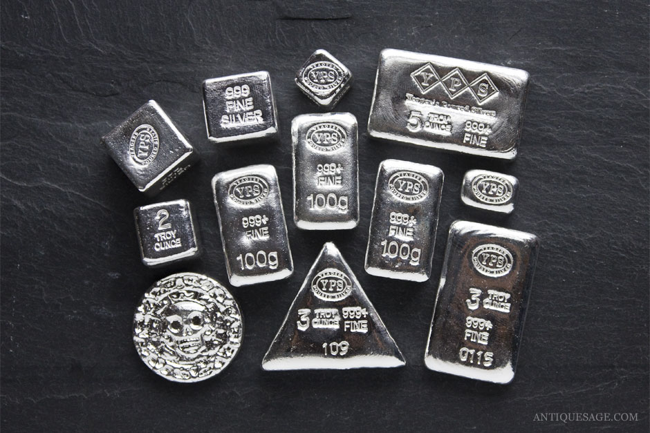 Yeager's Poured Silver Bars - Investing in a YPS Grab Bag