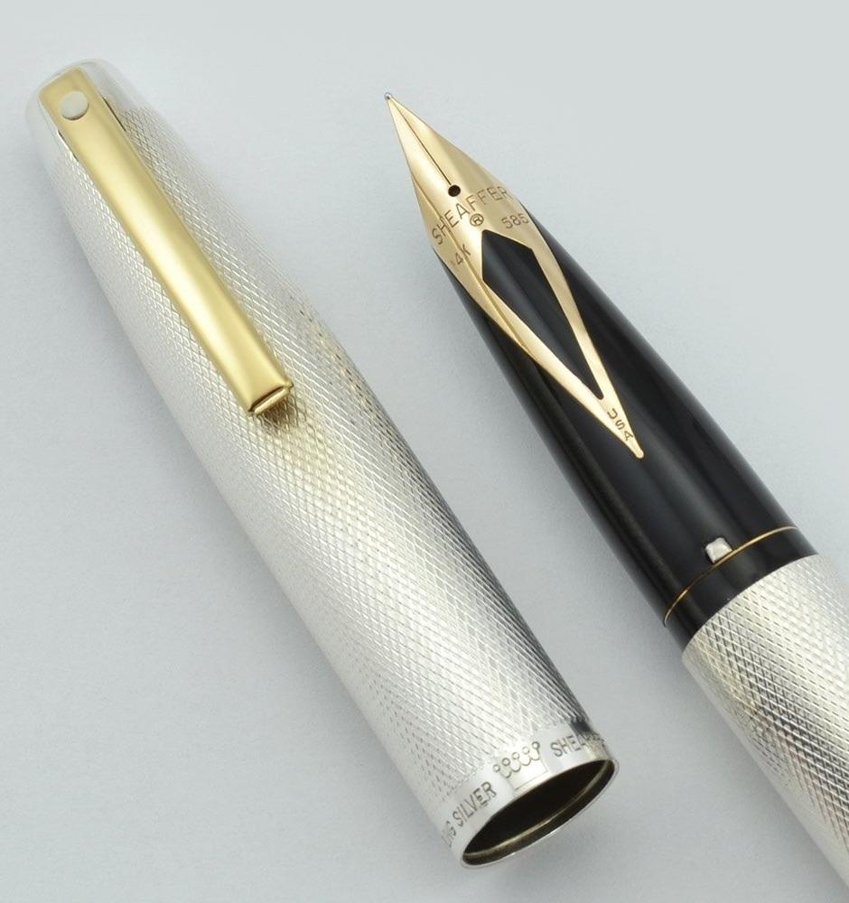 Vintage Sheaffer Imperial 826 Fountain Pen in Sterling