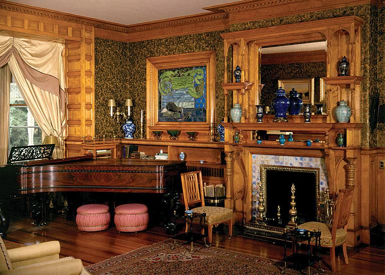 Museum Focus The Marsh Billings Rockefeller Mansion And
