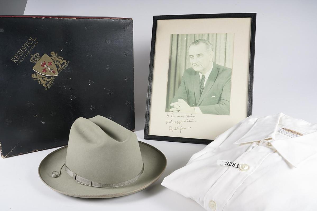 5897695 Group of Lyndon B Johnson Memorabilia including