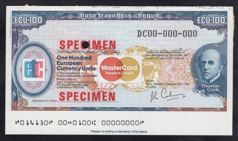 Cashing Travelers Checks In Europe
