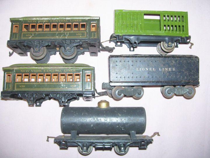 train lionel parts toy 2035 antique chassis