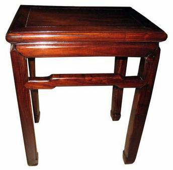 Pair Of Late 19th Century To 1900u0027s Chinese End Tables (VM)