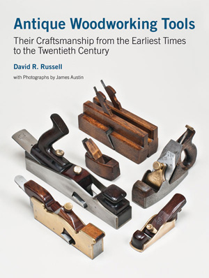 Jacket forAntique Woodworking Tools, showing a group of planes made by