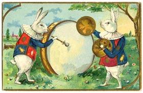 bunnies-drum