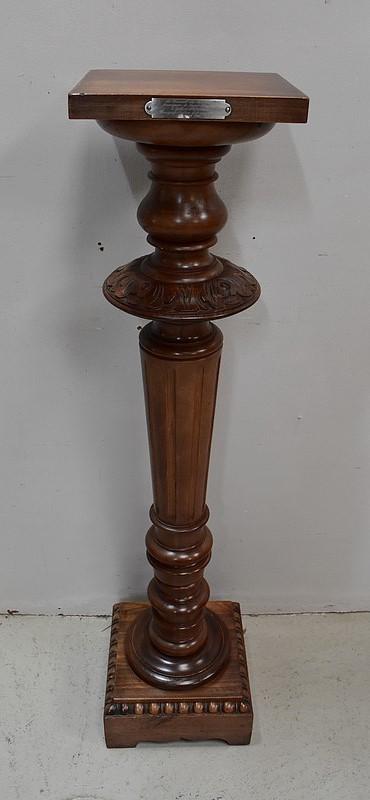 barre a roue sur colonne fut en bronze