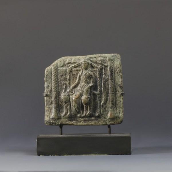 Bronze Plaque With Europa
