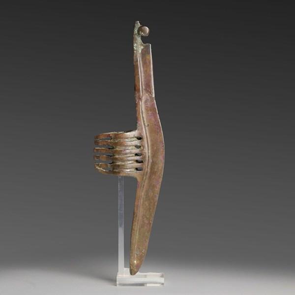 Fine Persian Crescentic Bronze Axe Head