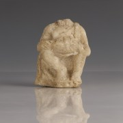 Marble Young Seated Hercules