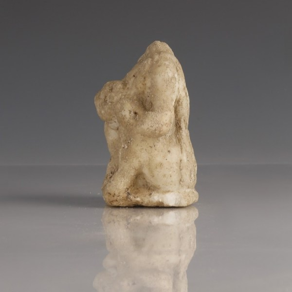 Roman Marble Statue of Young Hercules Seated