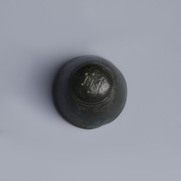 Byzantine Bronze Domed Weight