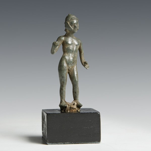 Rare British Celtic Bronze Warrior Statuette