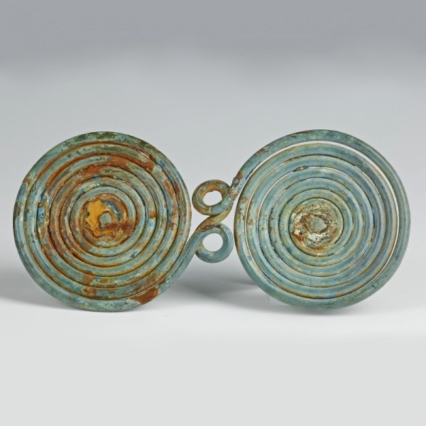 Large Bronze Age Spiral Decoration