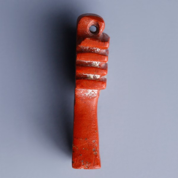 Ancient Egyptian Amulet In Carnelian