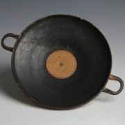 Attic Black-Figure Terracotta Kylix