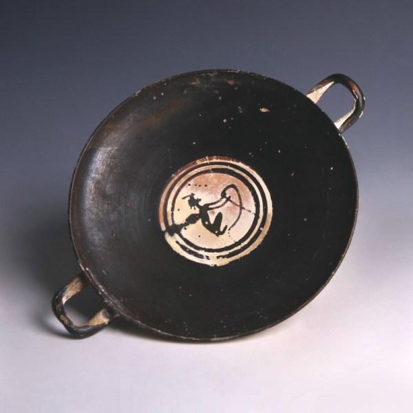 Attic Black-Figure Terracotta Kylix