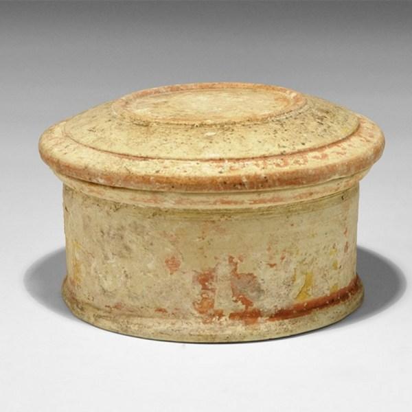 Ceramic Native Italic Pyxis