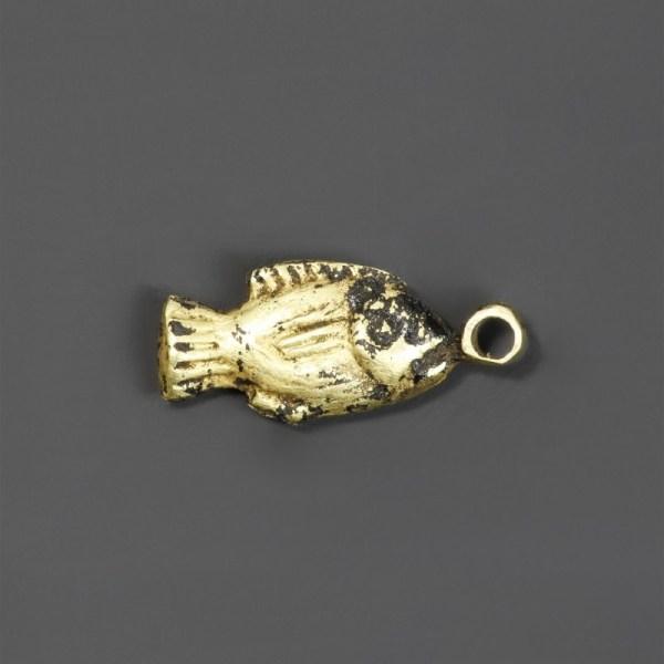 Egyptian Gold Fish Amulet