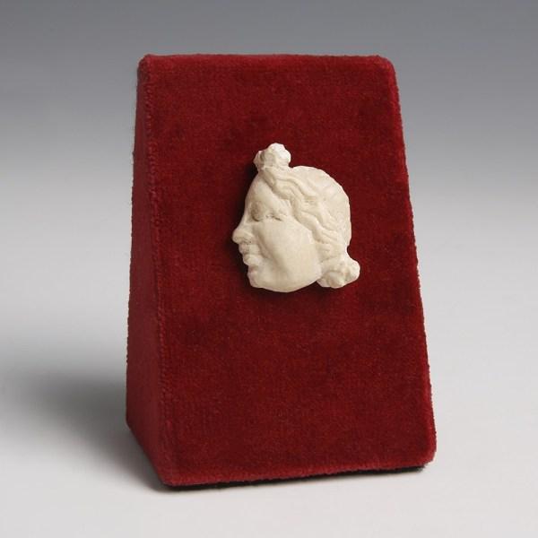 Greek Alabaster Inlay of a Goddess