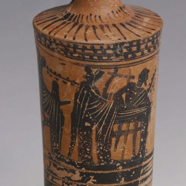 Greek Black-Figure Lekythos
