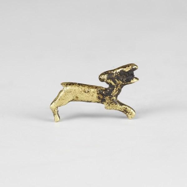 Gold Egyptian Gazelle Amulet