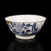 Tek Sing Blue and White Circular Bowls