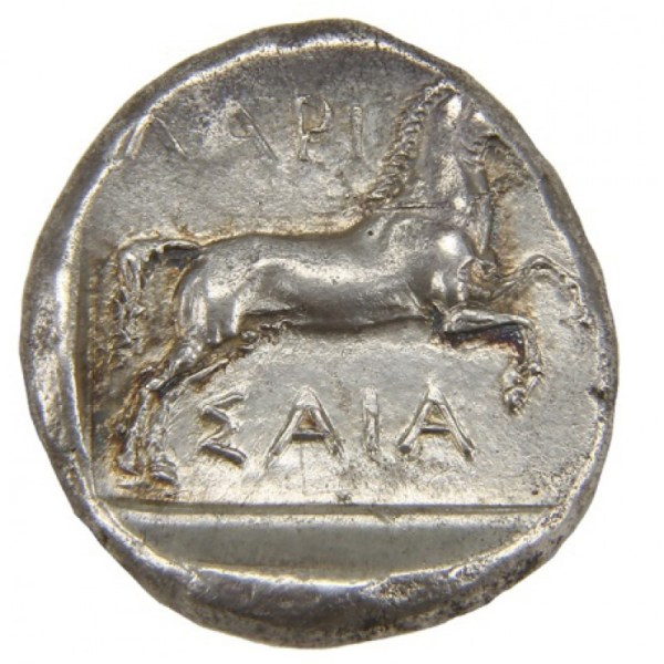 Thessaly, Larissa (400-360 BC), Ar. Drachm