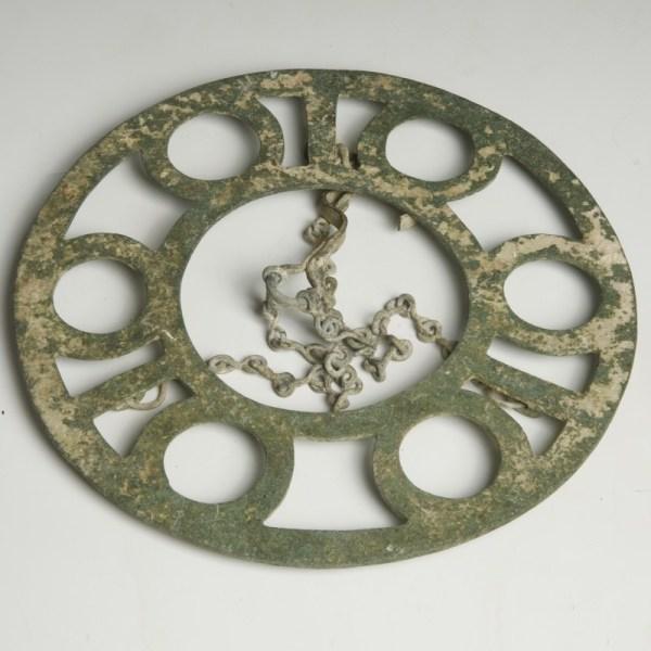 Byzantine Bronze Hanging Candelabrum