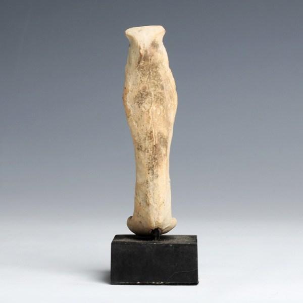 Old Babylonian Pottery Goddess Ishtar Statuette